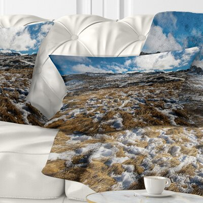 Top of Kosciuszko National Park Seashore Pillow Size: 12 x 20, Product Type: Lumbar Pillow