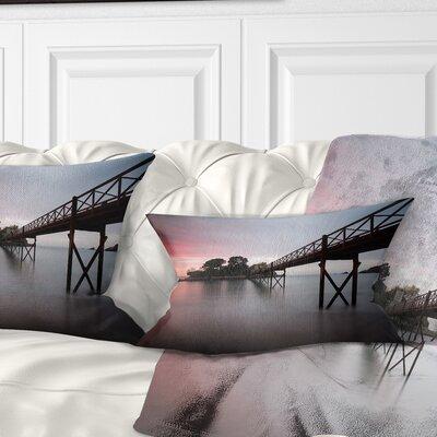 Santa Cruz Island Spain Seashore Photo Pillow Size: 12 x 20, Product Type: Lumbar Pillow