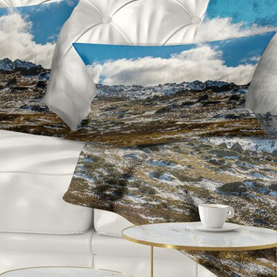 Wide View of Kosciuszko National Park Seashore Pillow Size: 12 x 20, Product Type: Lumbar Pillow