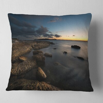 Sydney Coastline Seascape Pillow Size: 16 x 16, Product Type: Throw Pillow