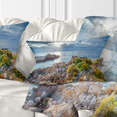 Piscina Di Venere Reserve Landscape Photo Pillow Size: 12 x 20, Product Type: Lumbar Pillow