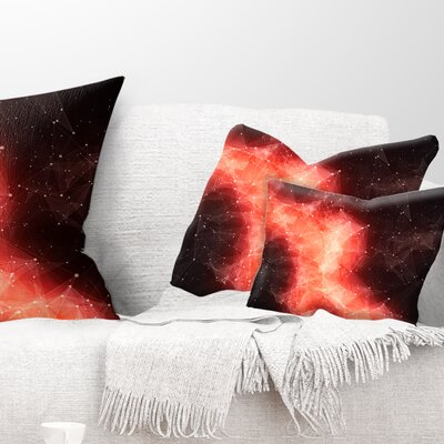 Nebula in Cosmos Contemporary Pillow Size: 12 x 20, Product Type: Lumbar Pillow
