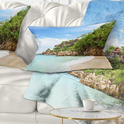 Resorts on the Rock Seascape Pillow Size: 12 x 20, Product Type: Lumbar Pillow