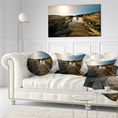 Beautiful Landscape at Norah Head Landscape Printed Throw Pillow Size: 20 x 20