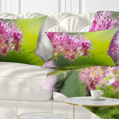 Little Flowers in Floral Pillow Size: 12 x 20, Product Type: Lumbar Pillow