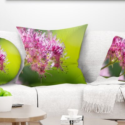 Little Flowers in Floral Pillow Size: 16 x 16, Product Type: Throw Pillow