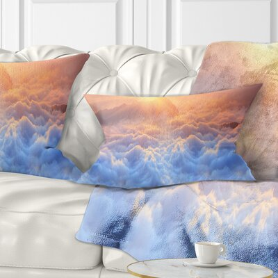 Frosty Carpathian Mountains Landscape Photo Pillow Size: 12 x 20, Product Type: Lumbar Pillow