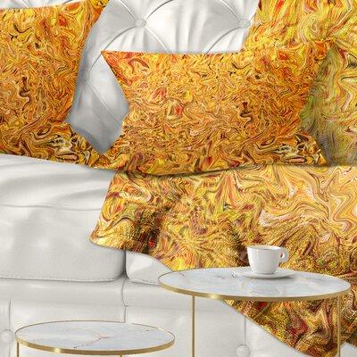 Textured Flowing Pillow Size: 12 x 20, Product Type: Lumbar Pillow