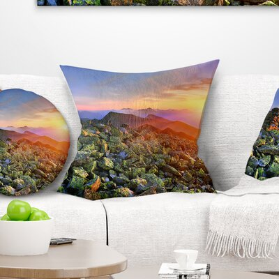 Bright Sun Pillow Size: 18 x 18, Product Type: Throw Pillow
