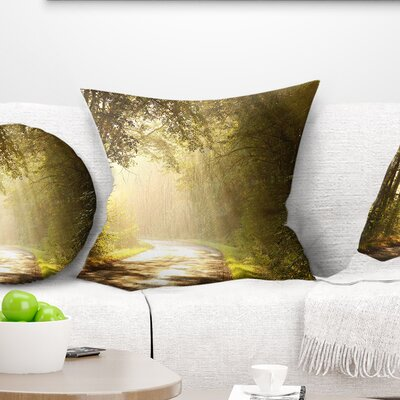 Bright Sunlight Pillow Size: 18 x 18, Product Type: Throw Pillow