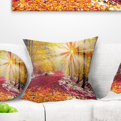 Bright Sun Pillow Size: 26 x 26, Product Type: Euro Pillow