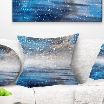 Sky Reflection Pillow Size: 26 x 26, Product Type: Euro Pillow