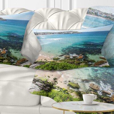 Expansive Sydney Bondi Beach Seashore Pillow Size: 12 x 20, Product Type: Lumbar Pillow