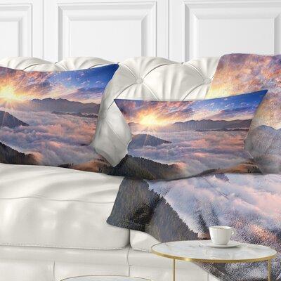 Bright Sun Pillow Size: 12 x 20, Product Type: Lumbar Pillow