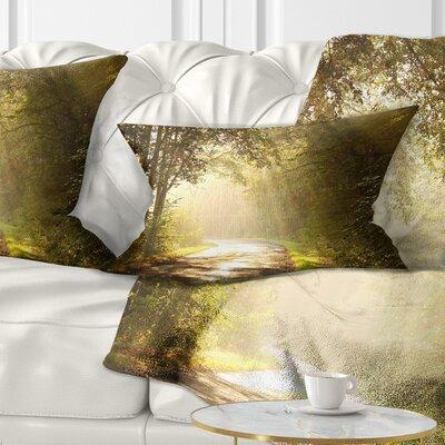 Bright Sunlight Pillow Size: 12 x 20, Product Type: Lumbar Pillow