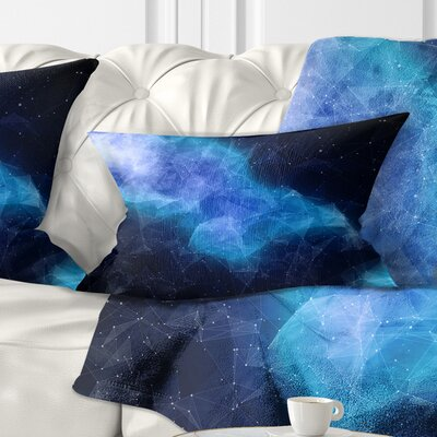 Nebula Pillow Size: 12 x 20, Product Type: Lumbar pillow