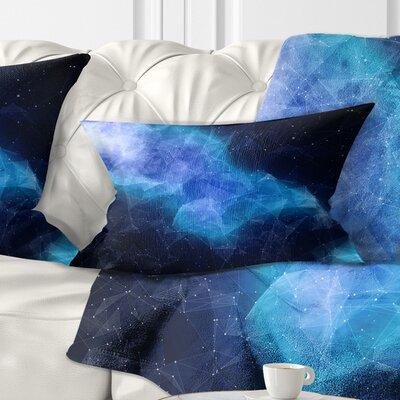 Nebula Pillow Size: 12 x 20, Product Type: Lumbar pillow
