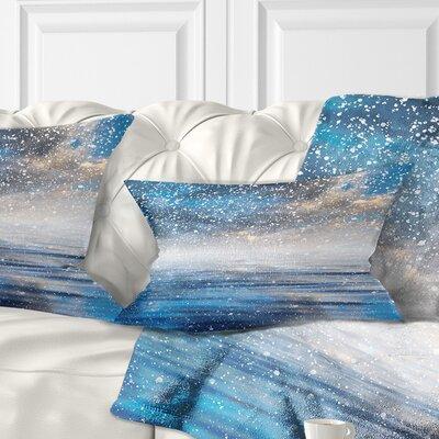Sky Reflection Pillow Size: 12 x 20, Product Type: Lumbar pillow