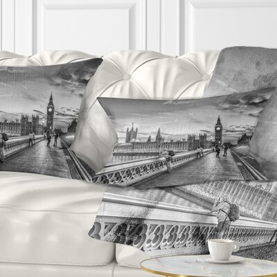 Beautiful London View Cityscape Pillow Size: 12 x 20, Product Type: Lumbar pillow