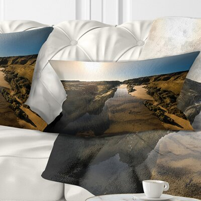 Beautiful Landscape at Norah Head Landscape Printed Pillow Size: 12 x 20, Product Type: Lumbar Pillow