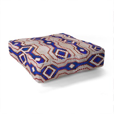 Schatzi Boho Basic Eye RWB Square Floor Pillow