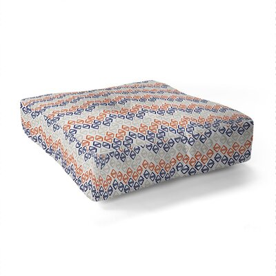 Wesley Bird Desert Sunrise Square Floor Pillow