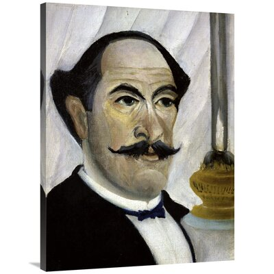 'Portrait of The Artist' Print on Canvas 150E007DEDC0431FA93917F9EE3BC2AB