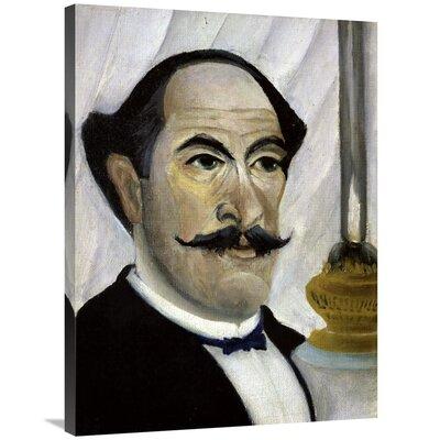 'Portrait of The Artist' Print on Canvas D59A3CDAEC2E493491974DB678188E17