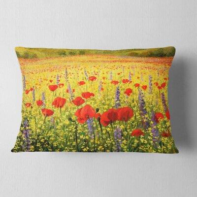Landscape Sea of Blossom Lumbar Pillow 2ECEA31D48E14B00B70F86C62F26D749