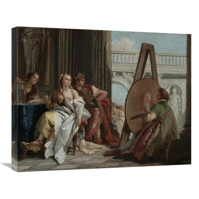 'Seated Woman with a Fan' Print on Canvas C54A0E039AE74F77BDEE51C0F79BF8B0