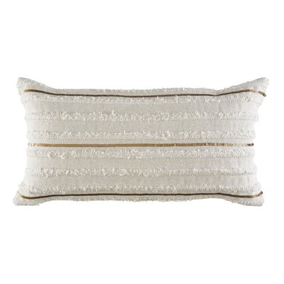 Block Island Cotton Lumbar Pillow