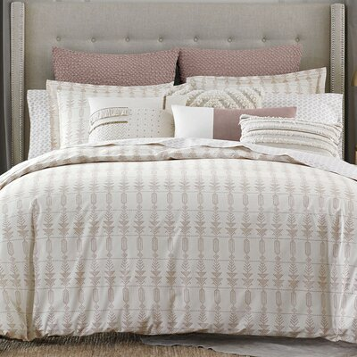 Block Island Duvet Cover Size: King