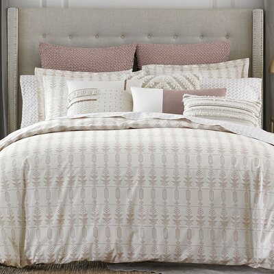 Block Island Cotton Comforter Size: King
