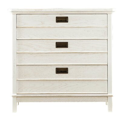 Blackburn 3 Drawer Bachelors Chest Finish: Distressed Sail Cloth