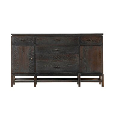Blackburn Buffet Color: Distressed Mahogany