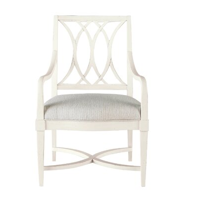 Blackburn Arm Chair Finish: Distressed White