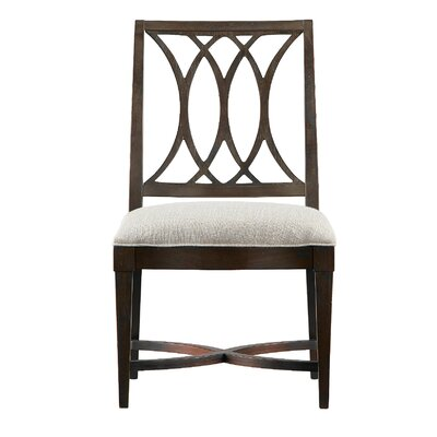 Blackburn Side Chair Finish: Distressed Mahogany