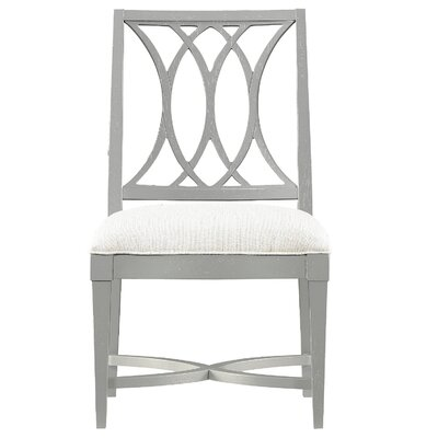 Blackburn Side Chair Color: Distressed Nautical White