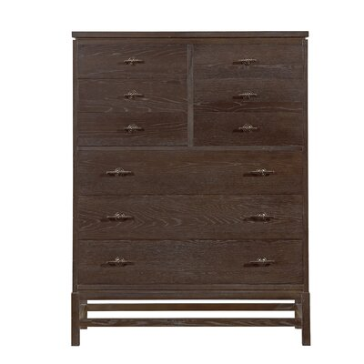 Blackburn 9 Drawer Chest Color: Distressed Channel Marker