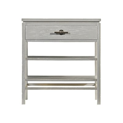 Blackburn 1 Drawer Nightstand Color: Distressed Morning Fog