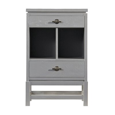 Blackburn 2 Drawer Nightstand Color: Morning Fog