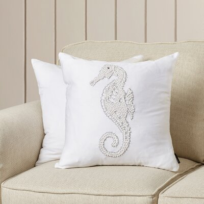 Wellington 2 Piece Seahorse Pillow Set