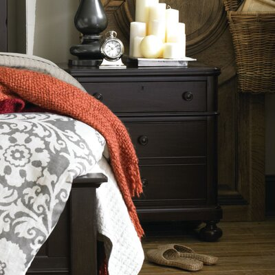 Blithedale 2 Drawer Nightstand Color: Dark Brown