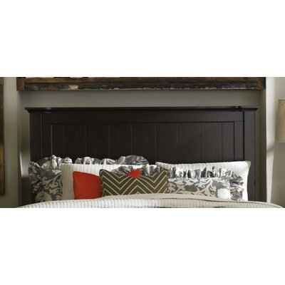 Blithedale Panel Headboard Size: Queen, Color: Dark Brown