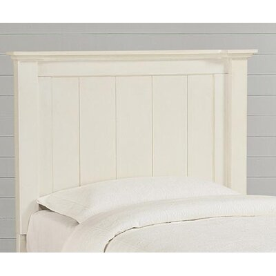 Blithedale Panel Headboard Size: Twin, Color: Antique White