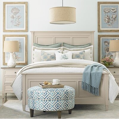Eldridge Panel Bed Size: King, Finish: Taupe