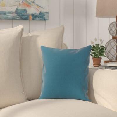 Haverhill Outdoor Sunbrella Throw Pillow Fabric: Seascape Turquoise