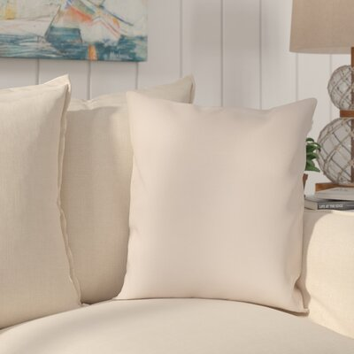 Sandalwood Outdoor Sunbrella Throw Pillow Fabric: Seascape Sand