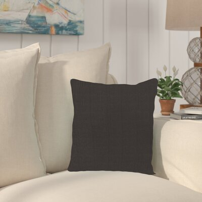 Haverhill Outdoor Sunbrella Throw Pillow Fabric: Seascape Charcoal