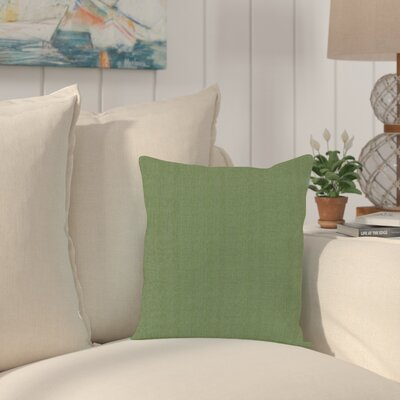 Haverhill Outdoor Sunbrella Throw Pillow Fabric: Seascape Moss